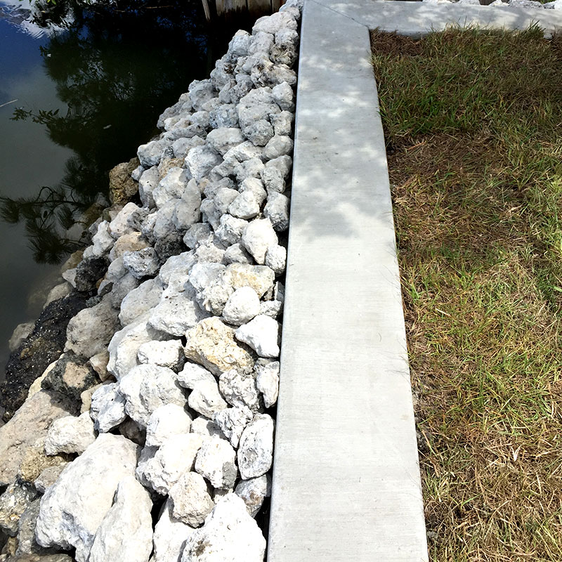 Rock Revetment by Innovative Marine Structures