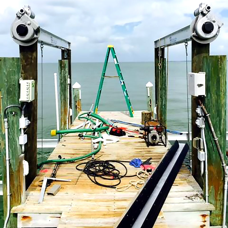 Marine Structure Service and Repairs